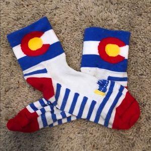 Colorado Mid-Rise Running Socks